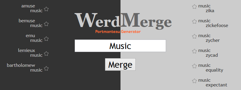 alt Screenshot werdmerge web site